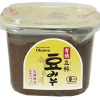 即納送料無料! ☆ 有機立科豆みそ 750g オーサワジャパン 日本正規代理店品