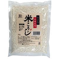 ☆ やさかの有機乾燥米こうじ 白米 500g 安全 やさか共同農場 期間限定お試し価格