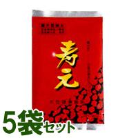 【送料無料】黒大豆寿元お徳用(600g)【5袋セット】【ジュゲン】【いつでもポイント10倍】