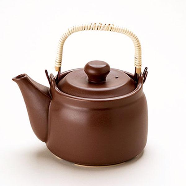 OUTLET SALE マスタークック 大好評です けんこう土瓶 ガス直火用 健康綜合開発 1.6L こげ茶色