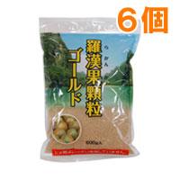 【送料無料】羅漢果顆粒ゴールド(500g)【6個セット】【日本食品】