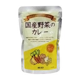 大幅値下げランキング 最新アイテム レトルトカレー 野菜カレー 国産野菜のカレー ムソー 200g 甘口