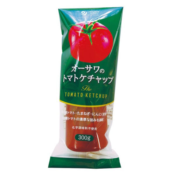☆ オーサワのトマトケチャップ 激安通販ショッピング チューブ入り 日時指定 オーサワジャパン 300g