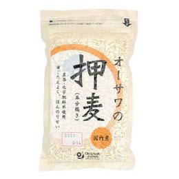 ※ラッピング 海外輸入 ※ ☆ オーサワの押麦 五分搗き オーサワジャパン 300g