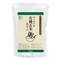 ☆有機今ずり玄米あずき粥 有機玄米あずき粥(200g)【オーサワジャパン】