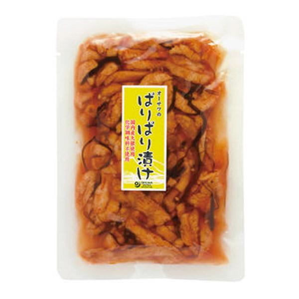 ☆ 国産大根使用のぱりぱり漬け 訳ありセール 格安 オーサワジャパン 120g ご予約品