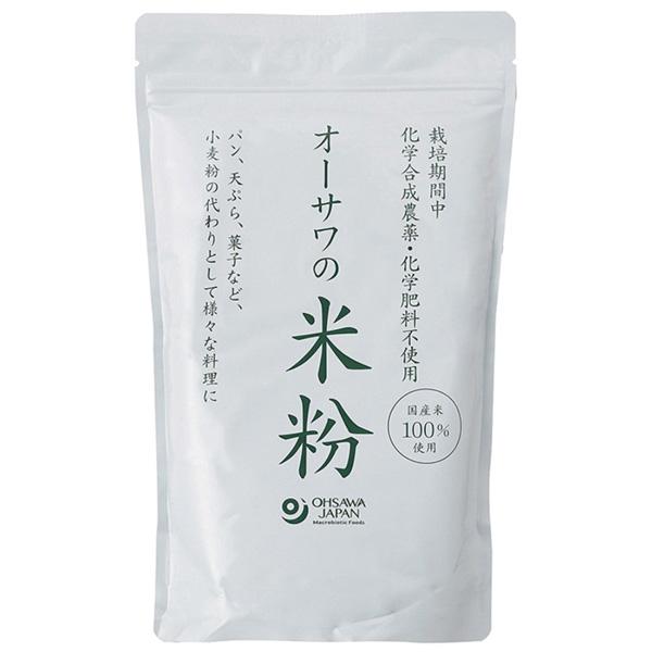 秀逸 オーサワの国産米粉 付与 500g オーサワジャパン