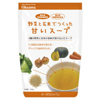 激安超特価 野菜と玄米でつくった甘いスープ 200g セール 登場から人気沸騰 オーサワジャパン