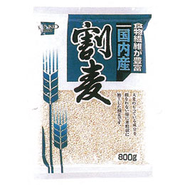 ☆ 日本産 予約注文 2021年8月19日頃より順次発送予定 健康フーズ 割麦 800g 送料無料/新品