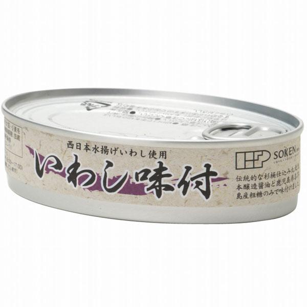 缶詰 鰯 イワシ いわしの缶詰め 人気上昇中 イワシの缶詰 100g 固形量70g いわし味付 爆買い新作 創健社