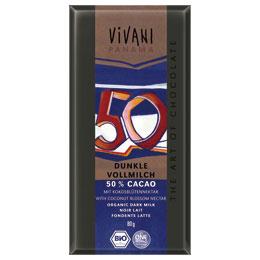 VIVANI dark milk chocolate 50% (80 g)