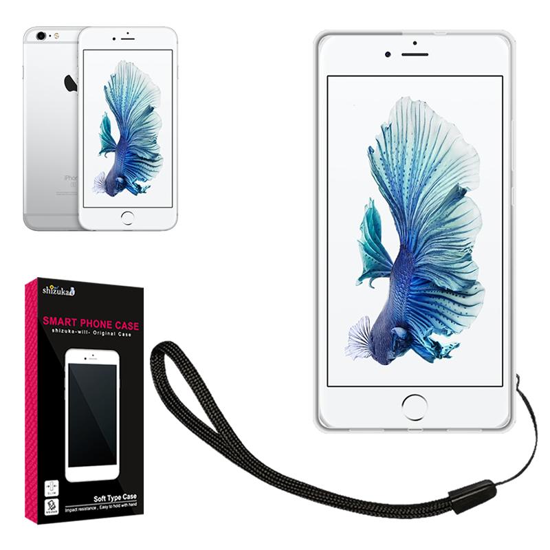 土日祝も発送 送料無料 あす楽対応 iPhone6 iPhone6S TPU ソフトカバー 薄型 高透明 耐衝撃 衝撃吸収 ストラップホール付 ストラップ付 だから私はシズカウィル 限定特価 15%クーポン配布中 6s iphone6 iphone6S au シズカウィル ケース アイフォン6 クリアケース カバー スマホケース ソフト 安全 shizukawill Apple ストラップホール