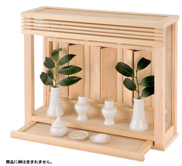 神棚 箱宮 神楽 板戸セット