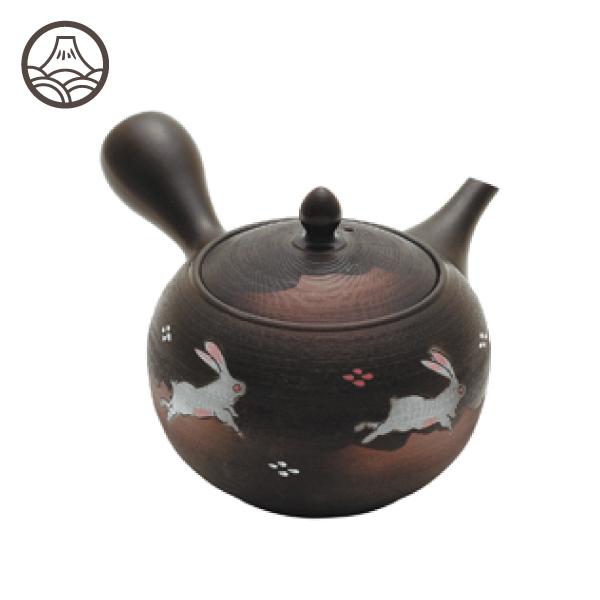 美味しいお茶にこだわるなら 淹れる茶器も自分好みを使いたいという方へ 急須 霞ふきウサギ 530mlうさぎ ウサギ 予約 常滑焼 ティーポット 可愛い 贈り物 ポット 茶器 和風 お求めやすく価格改定 こだわり プレゼント ギフト