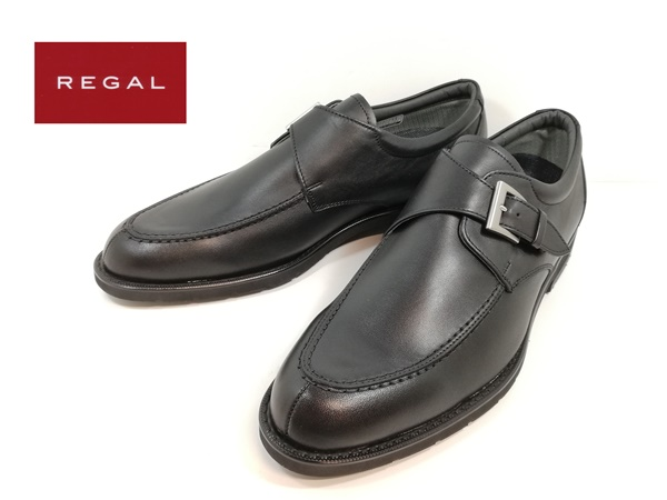 リーガル REGAL 034NR BB 100ブラック 靴 ビジネスシューズ モンクストラップ 【メンズ】