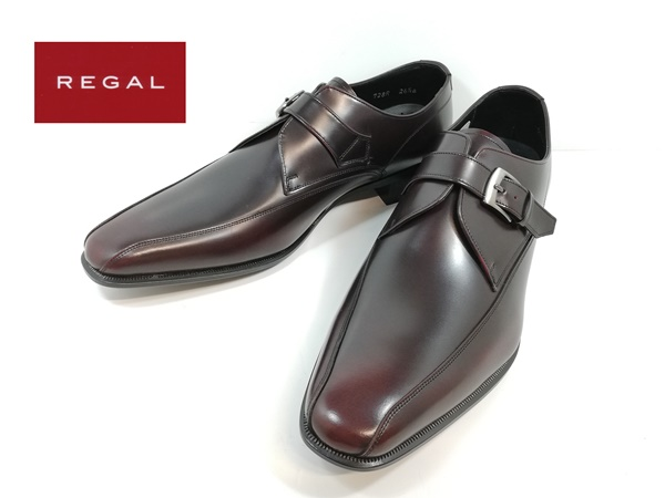 リーガル REGAL 靴 728R AL -440 ワイン モンクストラップ ビジネスシューズ 【メンズ】