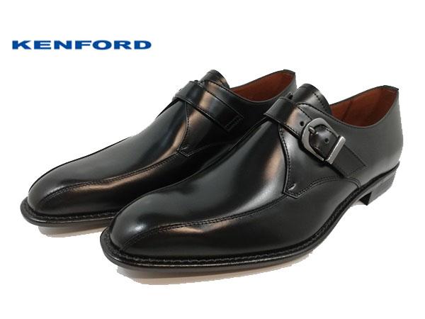 KENFORD ケンフォード 靴 ビジネスシューズ KB49-100 モンクストラップ レザー 【メンズ】