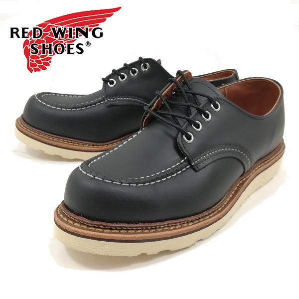 正規販売代理店 レッドウィング ワークオックスフォード 8106-100 work oxford moc-toe 【メンズ】