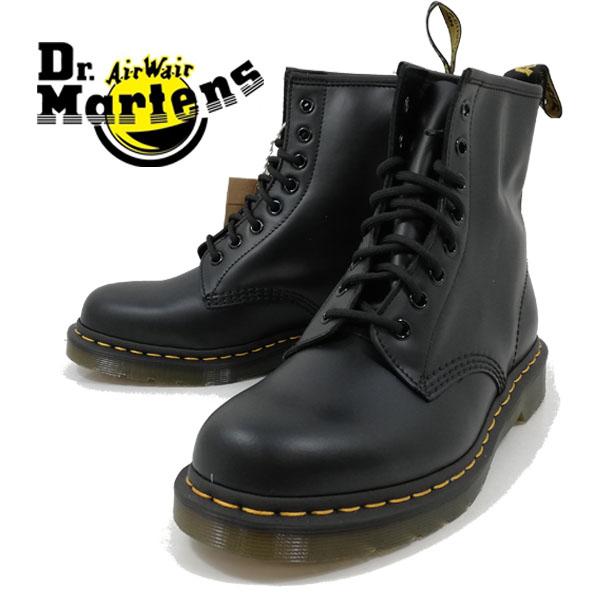 正規販売代理店 ドクターマーチン 1460 Dr Martens 8ホール 8-EYE BOOT 黒 革 ブラック ブーツ 【メンズ】