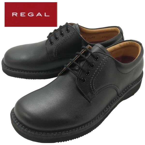 REGAL リーガル JJ23 AG紳士靴 ビジネスシューズ カジュアル リーガルウォーカー オブリーク ゆったりプレーントウ 幅広・軽量 3E 【メンズ】