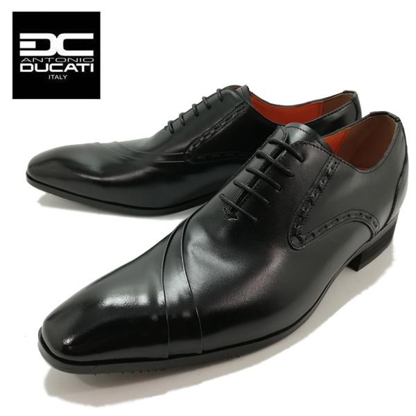 ANTONIO DUCATI アントニオ ドゥカティ 1191 ビジネスシューズ プレーントゥ ステッチ 本革 革靴 日本製 【メンズ】