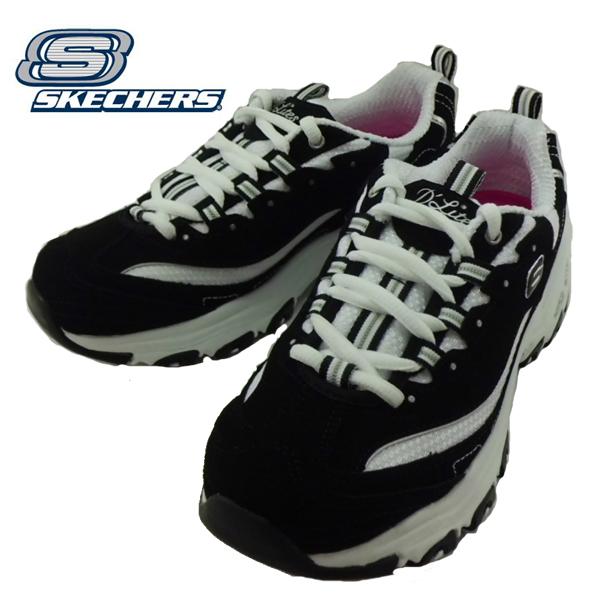 スケッチャーズ SKECHERS 11930/BKW WOMENS ウィメンズ D LITES BIGGEST FAN 靴 Black/White ブラック/ホワイト ダッドスニーカー【レディース】 【レディース】