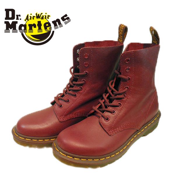 Dr.Martens ドクターマーチン 512411-440 CORE 1460 PASCAL 8ホールブーツ パスカル CHERRY RED VIRGINIA 13512411 【レディース】