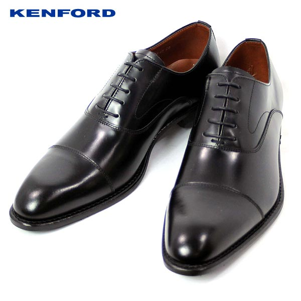 KENFORD ケンフォード ビジネスシューズ KB48-100 ストレートチップ 超歓迎された 正規認証品 新規格 smtb-MS レザー メンズ 靴 革