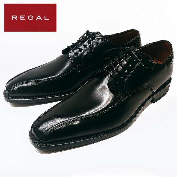 リーガル REGAL 03AR ビジネスシューズ 牛革 2E ブラック 【メンズ】
