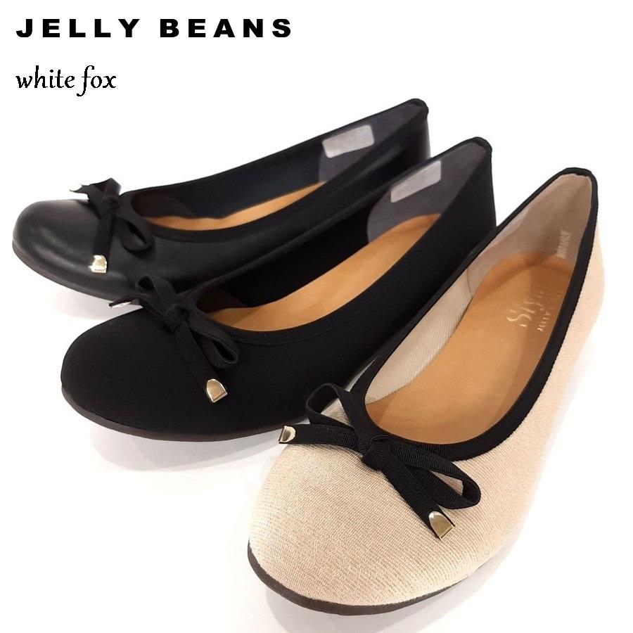 JELLY BEANS ジェリービーンズ 3950 バレエシューズ バレエ パンプス 日本製 フラット 靴 ☆送料無料☆ 当日発送可能 正規逆輸入品 123-3950 レディース リボン