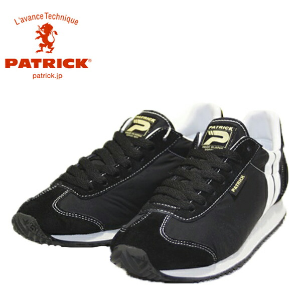 PATRICK パトリック 501811 NEVADA-S.N_BLK ネバダ・ソフトナイロン_ブラック 【レディース】