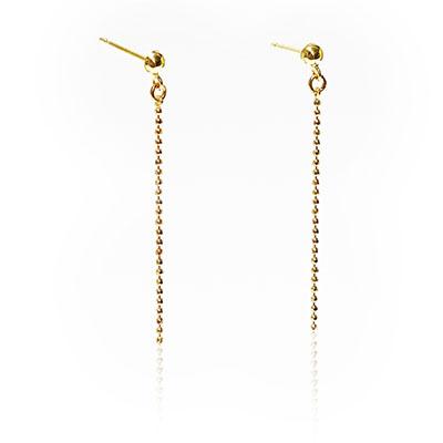 【送料無料】【工房Kei】チェーンピアス La Frill Jewelry ラフリルジュエリー 本物 [18金/K18] チェーン  プレゼントに最適 女性 日本製 プレゼント