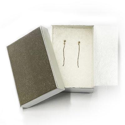 【送料無料】【工房Kei】チェーンピアス La Frill Jewelry ラフリルジュエリー 本物 [プラチナ/Pt850] チェーン プレゼントに最適 女性 日本製 プレゼント