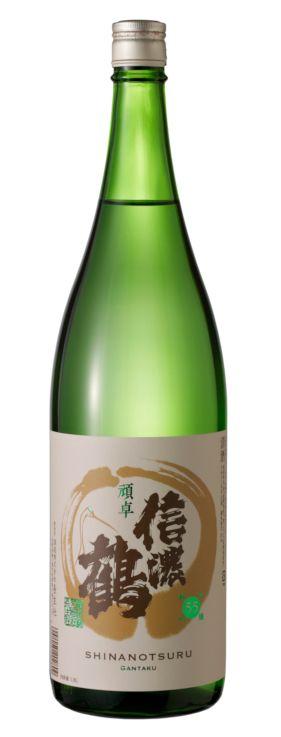 【送料無料】(日本酒)信濃鶴 純米吟醸 頑卓1800ml×6本セット