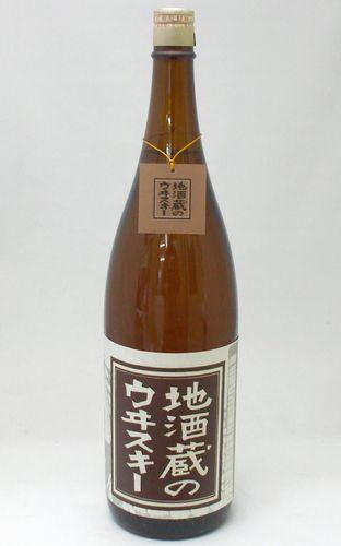 【本州以外は西濃運輸使用】【送料無料】【限定】地酒蔵のウイスキー(ウヰスキー)37度1800ml×4本