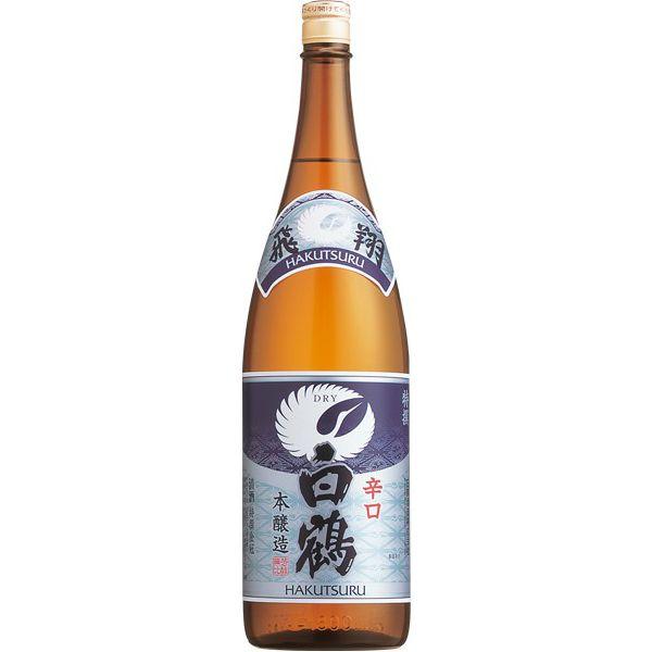 白鶴 特撰 飛翔(ひしょう) ドライ 1.8L瓶 1800ml×6本(P箱発送)1800ml 日本酒 清酒