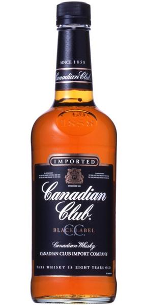 カナディアン ウイスキーカナディアン クラブ ブラックラベル 40度 700ml
