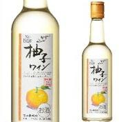 アサヒ サントネージュ 柚子ワイン 180ML×24本【日本】国産ワイン【アサヒ】ゆず 白ワイン