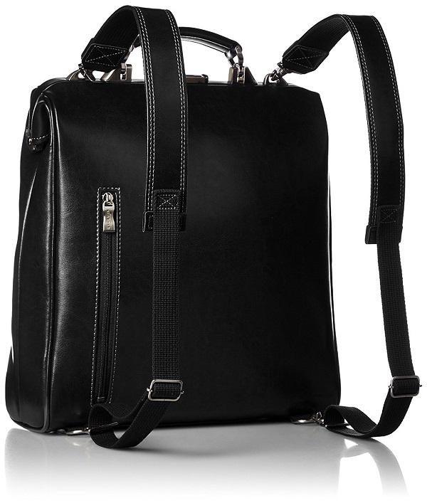 ビジネスリュックバッグ 日本製 3way ブラック 送料無料ダレスバッグがもつレトロかつクラシックな風合いを現代的にアレンジをしスマートフォンなどハンズフリーのスタイルなリュック型