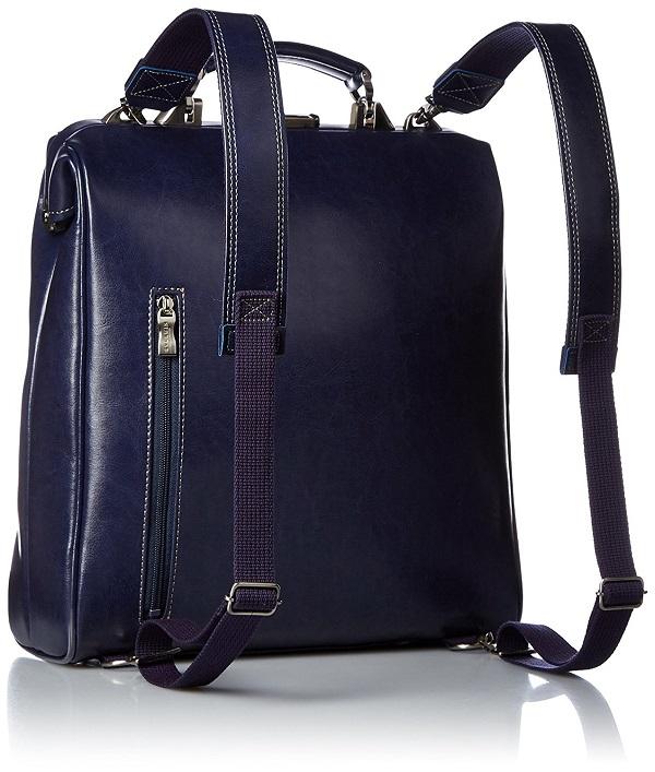 予約販売10月末発送予定ビジネスリュックバッグ 日本製 3way ネイビー 送料無料ダレスバッグがもつレトロかつクラシックな風合いを現代的にアレンジをしスマートフォンなどハンズフリーのスタイルなリュック型
