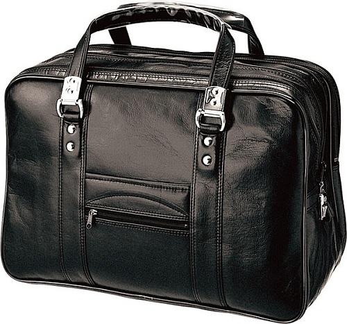 ビジネスボストンバッグ 日本製 送料無料B4サイズを収納可能!ロック機能付きバッグ