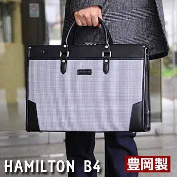 ビジネスバッグ ブリーフケース メンズ 日本製 千鳥格子 豊岡製鞄 レトロ 細マチ幅 ビジネス 書類 通勤 出張 黒 鞄 バッグギフト プレゼント バレンタイン 就職祝い 父の日 B4 A4