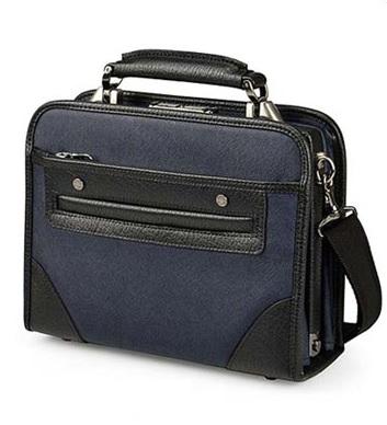 セカンドバッグ メンズ 日本製 日本製合皮ビジネスブリーフSサイズ BAGGEX バジェックス 鎧 ヨロイ ブラック ネイビーブルー