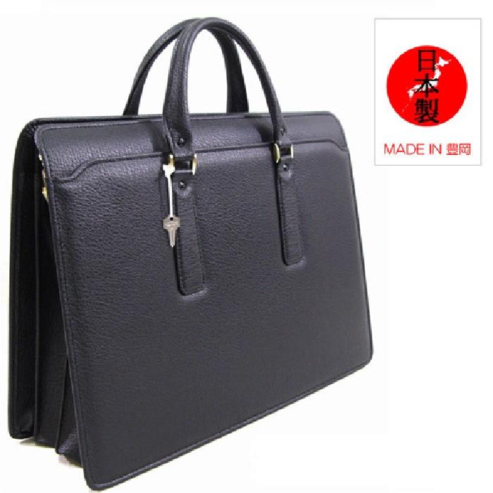 ビジネスバッグ メンズ 送料無料【kiwada】鞄の聖地兵庫県豊岡市製 日本製 バッファロ片手アオリビジネスブリーフバッグ