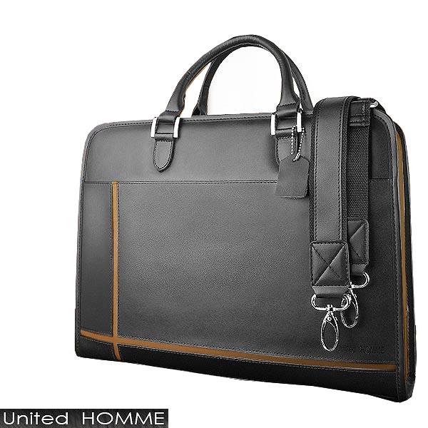 ビジネスバッグ 送料無料 本革 ブラウンスタイリッシュ&実用性を追求した大人鞄A4サイズもスッポリの大型ポケット収納付ブリーフケース リクルートバッグ