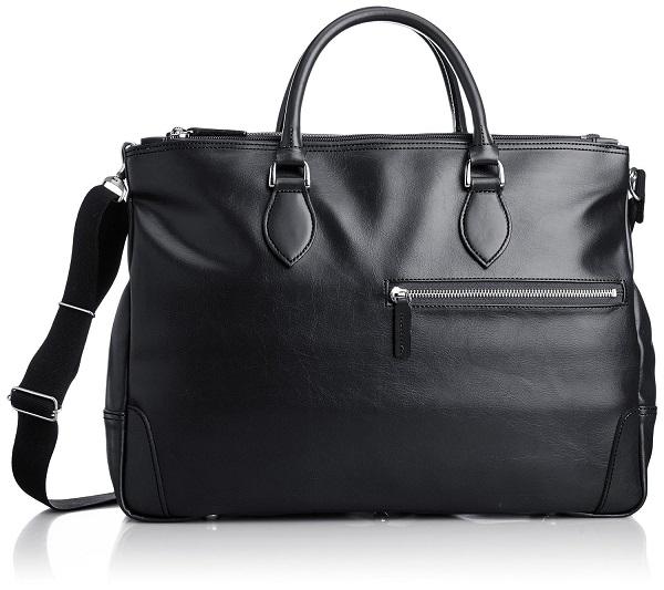 ビジネスバッグ 豊岡製鞄 レディース 送料無料日本のカバンの産地豊岡にて職人が真心をこめて大切に作り上げた出来る大人トレンド鞄【日本製】上品なソフト合皮を使用したモダンな日本製2本手ブリーフ