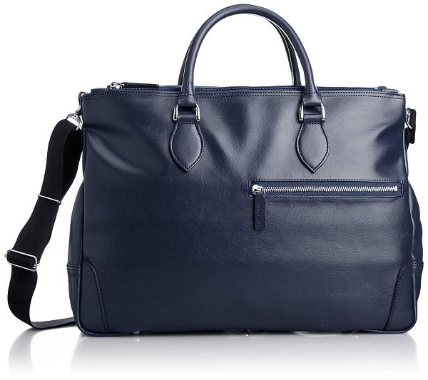 ビジネスバッグ 豊岡製鞄 メンズ 送料無料日本のカバンの産地豊岡にて職人が真心をこめて大切に作り上げた出来る男の大人トレンド鞄【日本製】上品なソフト合皮を使用したモダンな日本製2本手ブリーフ