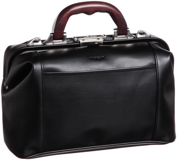ダレスバッグ メンズ 日本製 マックレガー 豊岡製鞄 ブラック 送料無料