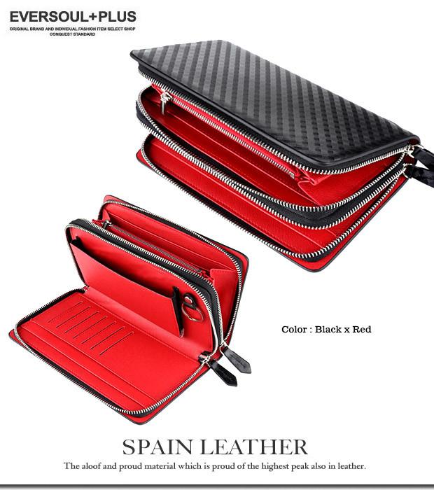 ★大型液晶のスマホにも対応★スペイン産の牛革を贅沢に使用した財布機能付きレザーミニセカンドバッグ★