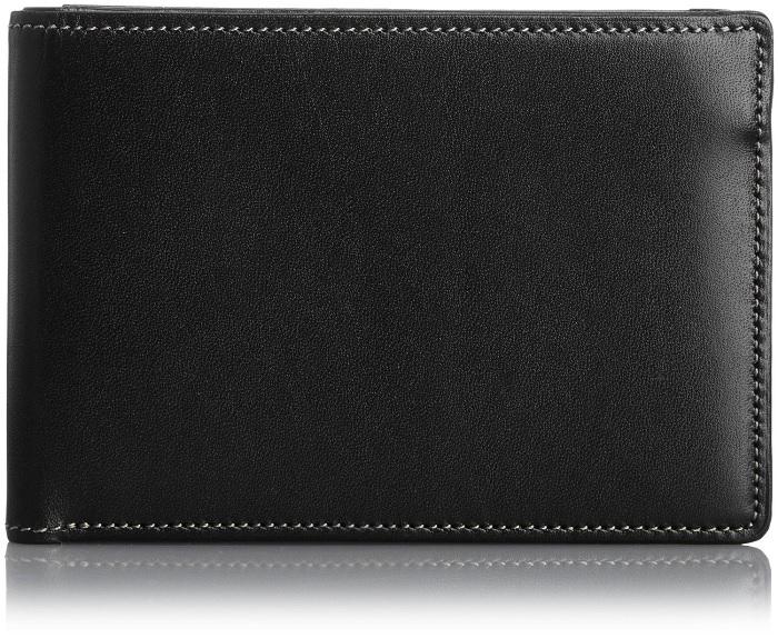 二つ折り財布 送料無料【THINly】日本製レザー薄型二つ折り財布